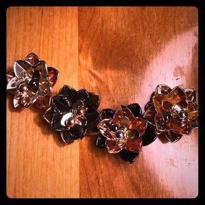 Kate Spade Metal Flower Bracelet